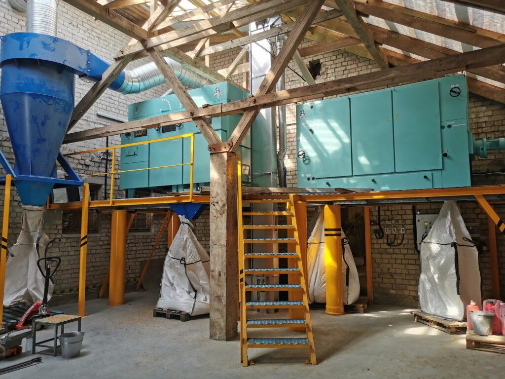 Sorteerimiskeskus renoveeritud Petkus K 545 ja K 231